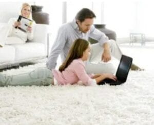 Clean Carpets Contribute to a Positive Healthy Well Being